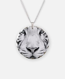 Realistic Tiger Painting Necklace