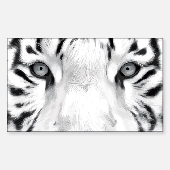 Realistic Tiger Painting Decal