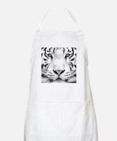 Realistic Tiger Painting Apron
