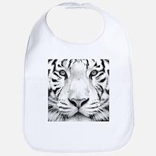 Realistic Tiger Painting Bib