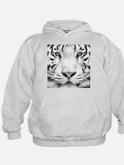 Realistic Tiger Painting Hoodie