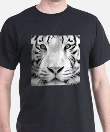 Realistic Tiger Painting T-Shirt