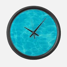 Cool Pool Large Wall Clock