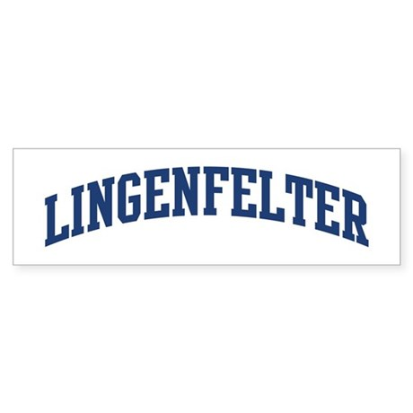 LINGENFELTER design (blue) Bumper Sticker