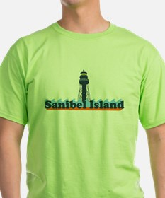 Sanibel Island FL - Lighthouse Design T-Shirt