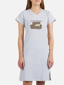 Cute Irish bulldog Women's Nightshirt