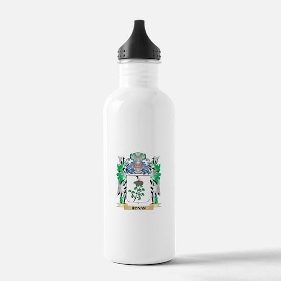 Ronan Coat of Arms - F Water Bottle