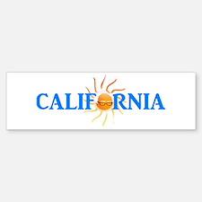 California for Bernie Bumper Bumper Bumper Sticker