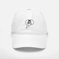 Thinking of Mountain Biking Baseball Baseball Cap