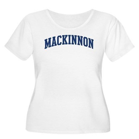 MACKINNON design (blue) Women's Plus Size Scoop Ne