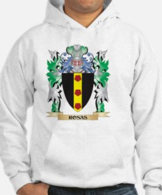Rosas Coat of Arms - Family Cres Hoodie