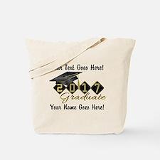 Graduate Black 2016 Tote Bag
