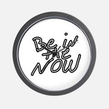 Be in the now Wall Clock