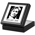 Hillary 2008 Keepsake Box