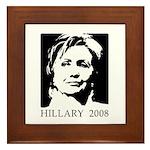 Hillary 2008 Framed Tile
