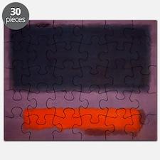 ROTHKO PURPLE AND ORANGE Puzzle