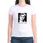 Hillary 2008 Jr. Ringer T-Shirt