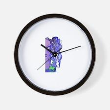 Cute Rosas Wall Clock