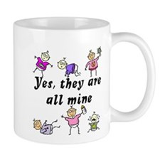 All Mine (5 Girls & A Boy) Mug