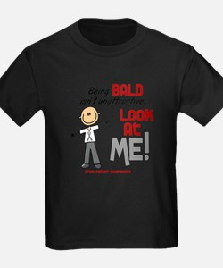 Bald 2 Brain Cancer (SFT) T-Shirt