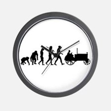 Farmers Evolution Wall Clock