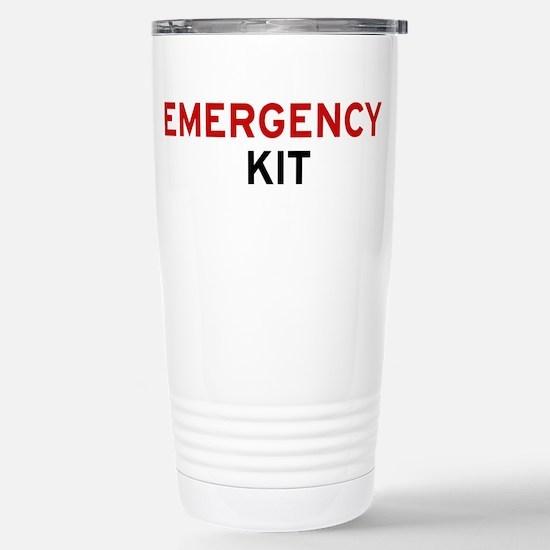 Emergency Kit Stainless Steel Travel Mug