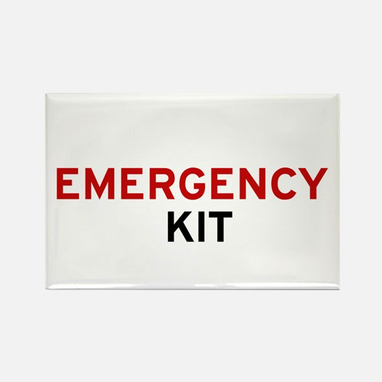 Emergency Kit Rectangle Magnet - I'm Magnets