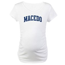 MACEDO design (blue) Shirt