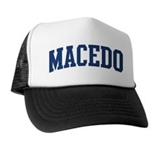 MACEDO design (blue) Trucker Hat