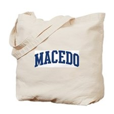 MACEDO design (blue) Tote Bag