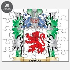 Rossi Coat of Arms - Family Crest Puzzle