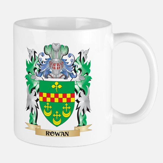 Rowan Coat of Arms - Family Crest Mugs
