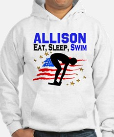 PERSONALIZE SWIMMER Hoodie