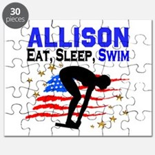 PERSONALIZE SWIMMER Puzzle