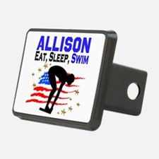 PERSONALIZE SWIMMER Hitch Cover