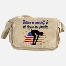 BEST SWIMMER Messenger Bag
