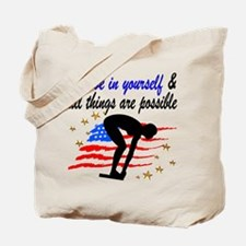 BEST SWIMMER Tote Bag
