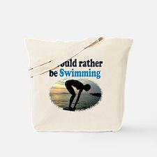 BEST SWIMMER Tote Bag