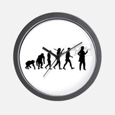 Development of mankind Wall Clock