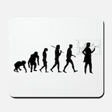 Development of mankind Mousepad