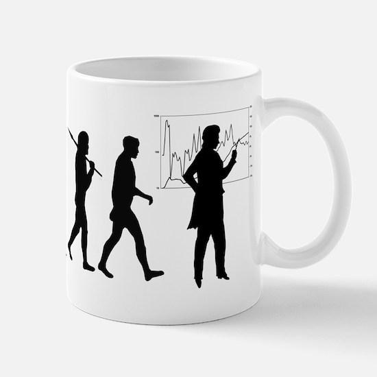 Economist Evolution Mug Mugs