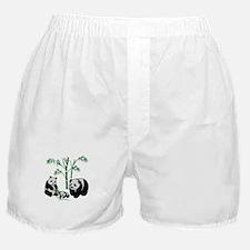 Panda Bear Family Boxer Shorts