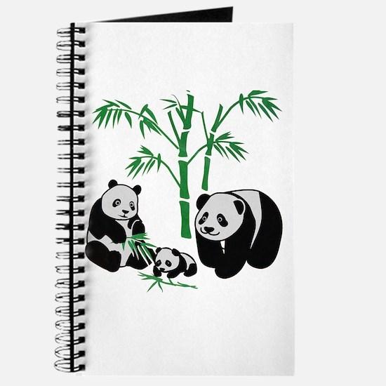 Panda Bear Family Journal