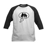 Thinking of Family Kids Baseball Jersey