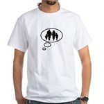 Thinking of Family White T-Shirt