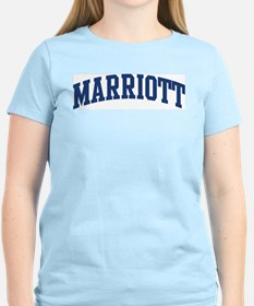 MARRIOTT design (blue) T-Shirt