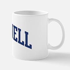 MCCONNELL design (blue) Mug