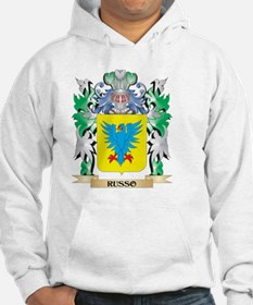 Russo Coat of Arms - Family Cres Hoodie
