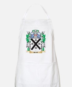 Rust Coat of Arms - Family Crest Apron