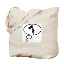 Thinking of Color Guard Tote Bag